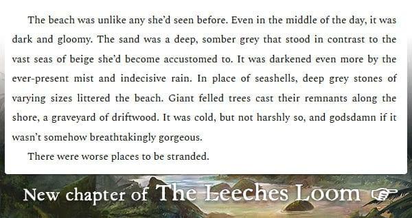 The Leeches Loom, Chapter 11 – Isha