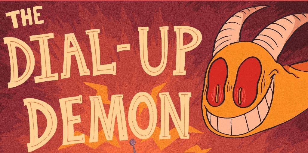 The Dial-Up Demon – Chapter 1: Another Day