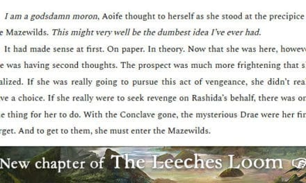 The Leeches Loom, Chapter 18 – Aoife