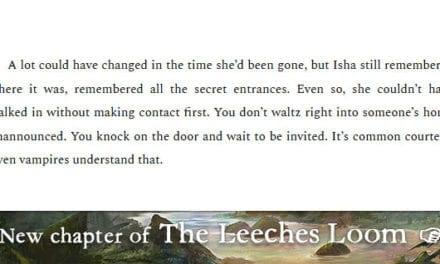 The Leeches Loom, Chapter 25 – Isha