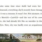 The Leeches Loom, Chapter 26 – Aoife