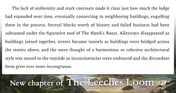 The Leeches Loom, Chapter 29 – Kyrill