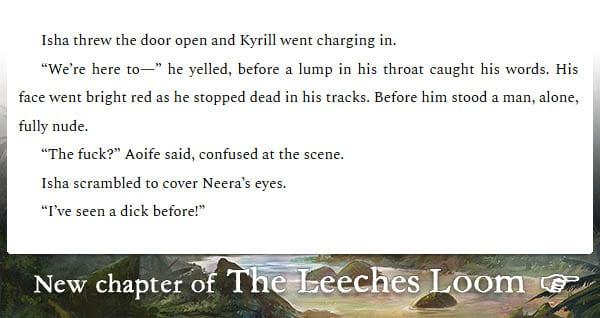 The Leeches Loom, Chapter 32 – Isha