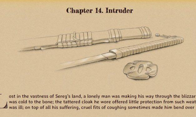 Cold Obsidian – Chapter 14 – Intruder